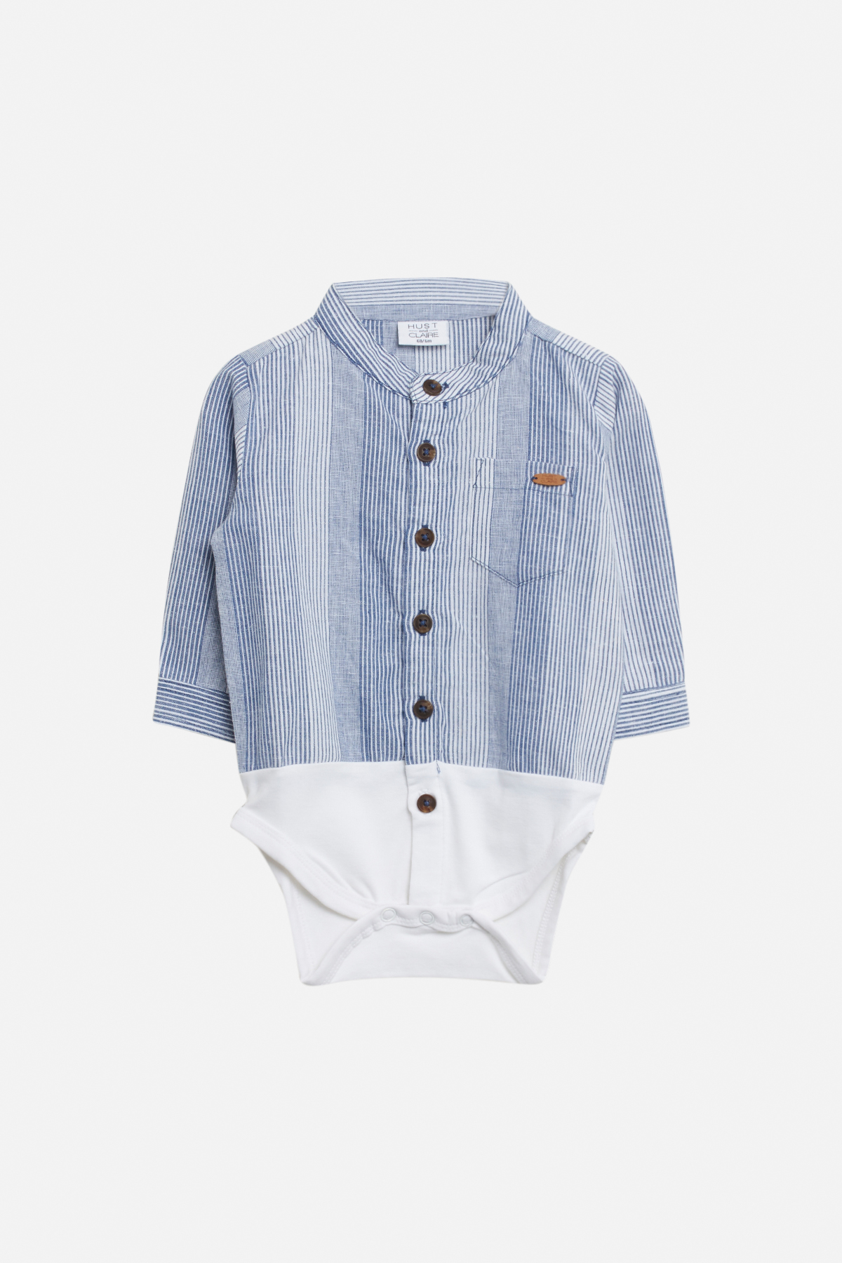 Hust & Claire - Bertil Shirt Body - Blue Moon