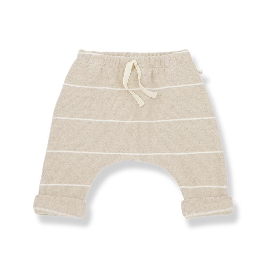 1+ in the Family - Charles Jogging Pants- Cream