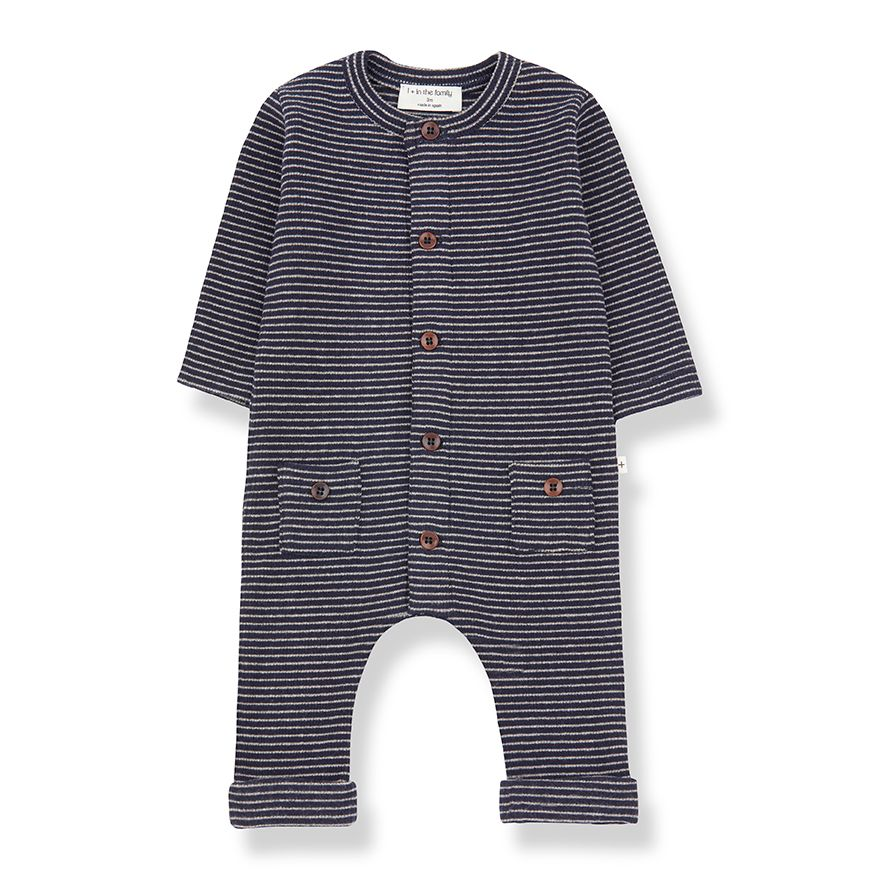 1+ in the Family - HUDSON - blue notte/beige